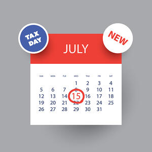 new tax deadline
