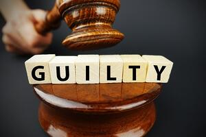 bigstock-Guilty-Court-Decision-With-Jud-229256497