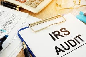 IRS audit document